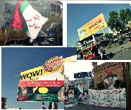 Election campaigns in Karachi