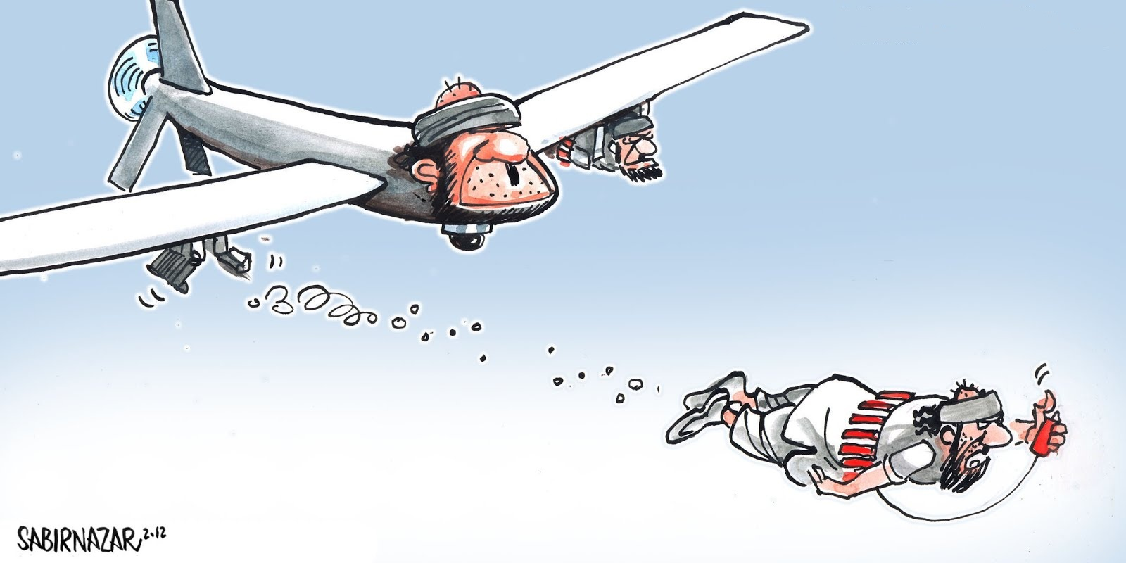 Drones or Suicide Bombers? Choose Carefully…